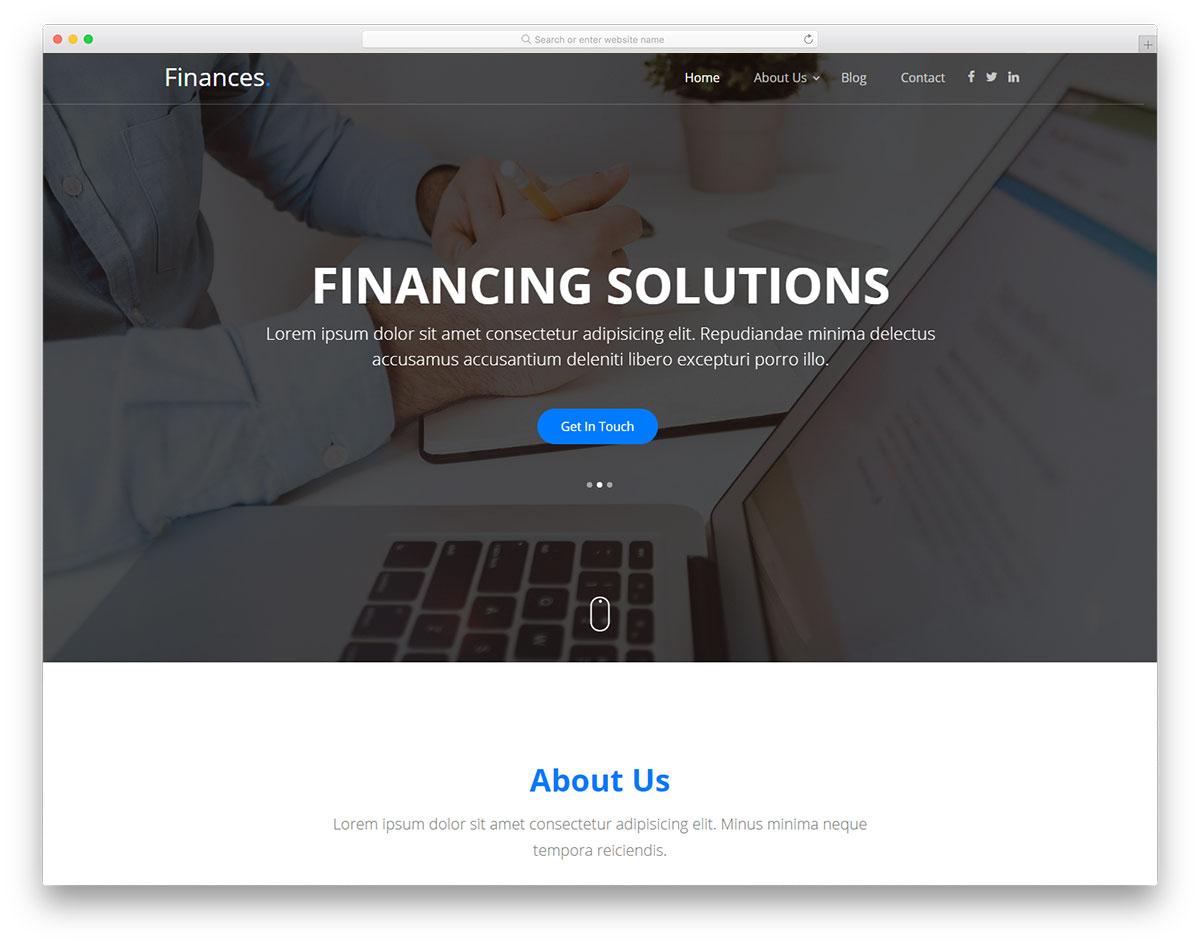 Finances Free Template