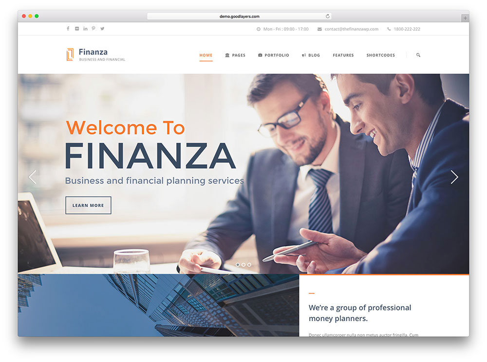 finanza-financial-website-theme