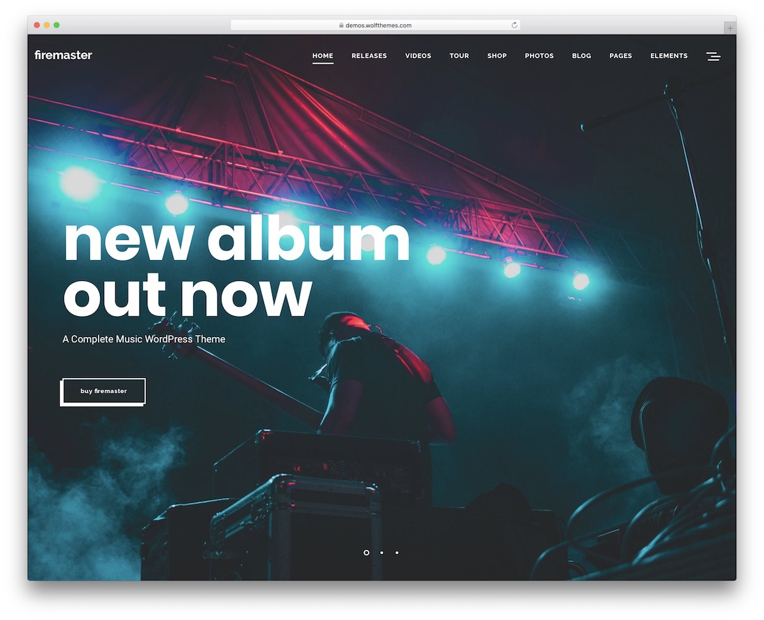 firemaster wordpress theme