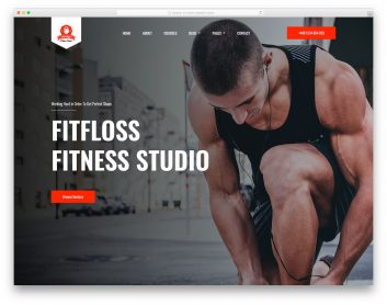 Fitfloss Free Template