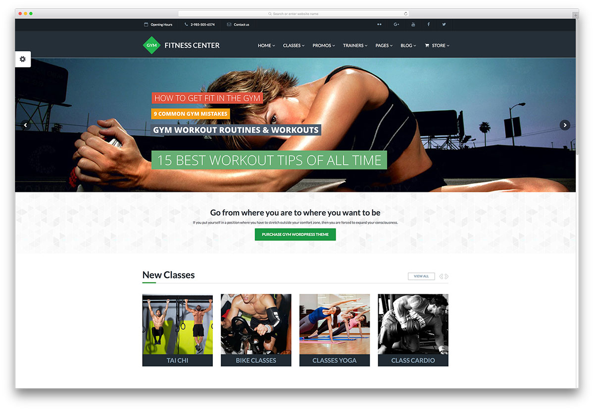 fitness-center-gym-website-template