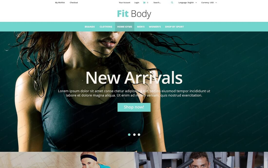 18 free magento templates for your ecommerce sites 2017 colorlib fitness free magento template pronofoot35fo Gallery
