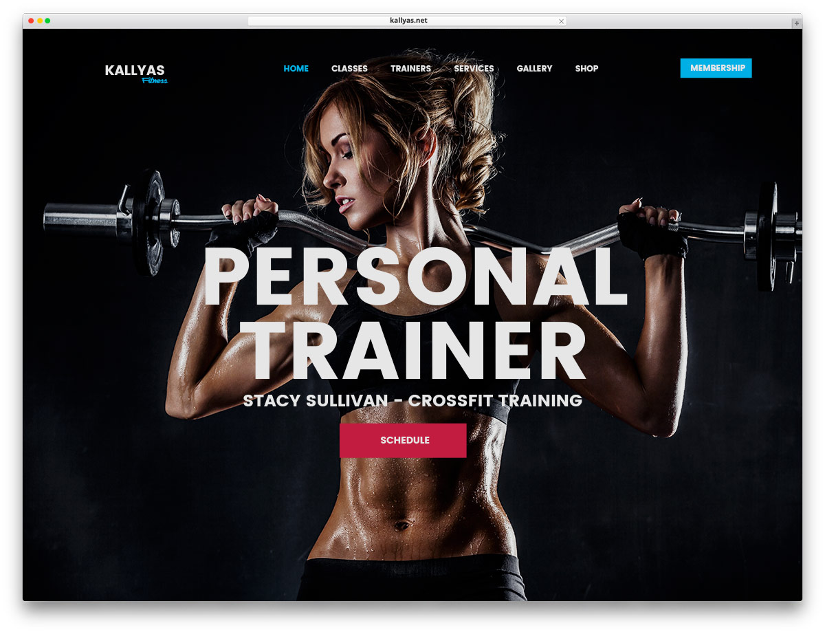 20+ Best WordPress Fitness Themes 2018 For Gym and Fitness Centers ...