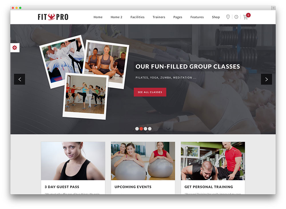 fitpro events crossfit template