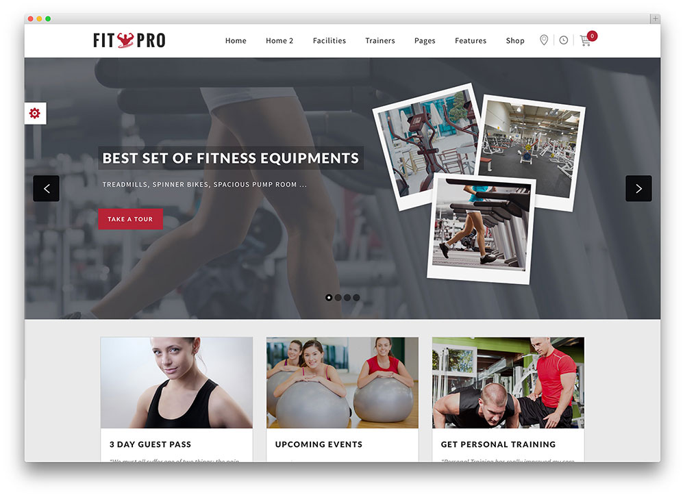 health club wordpress template  35 Best WordPress Fitness Themes 2018 For Gym and Fitness Centers ...