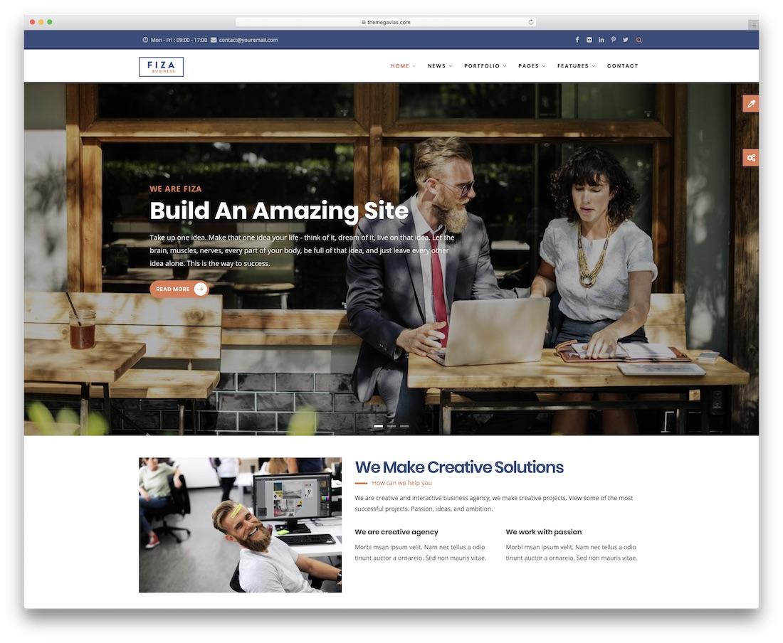 fiza drupal business template