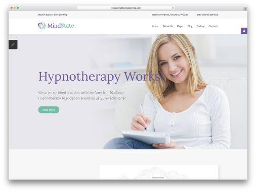 Flat Design Website Templates
