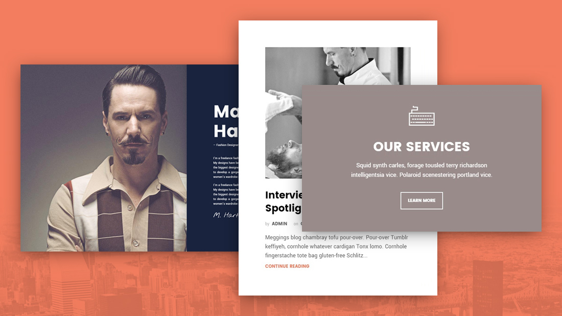 Flat Design Wordpress Themes