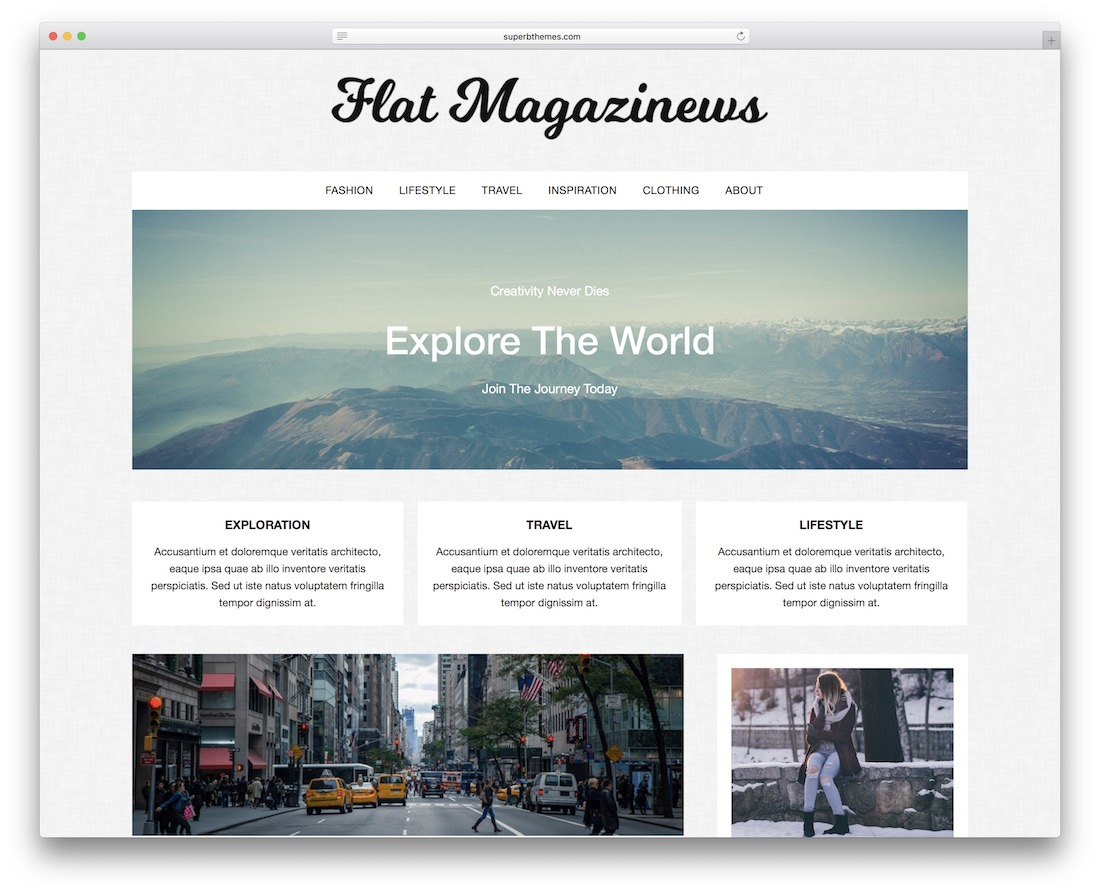 flatmagazinews free wordpress gaming theme
