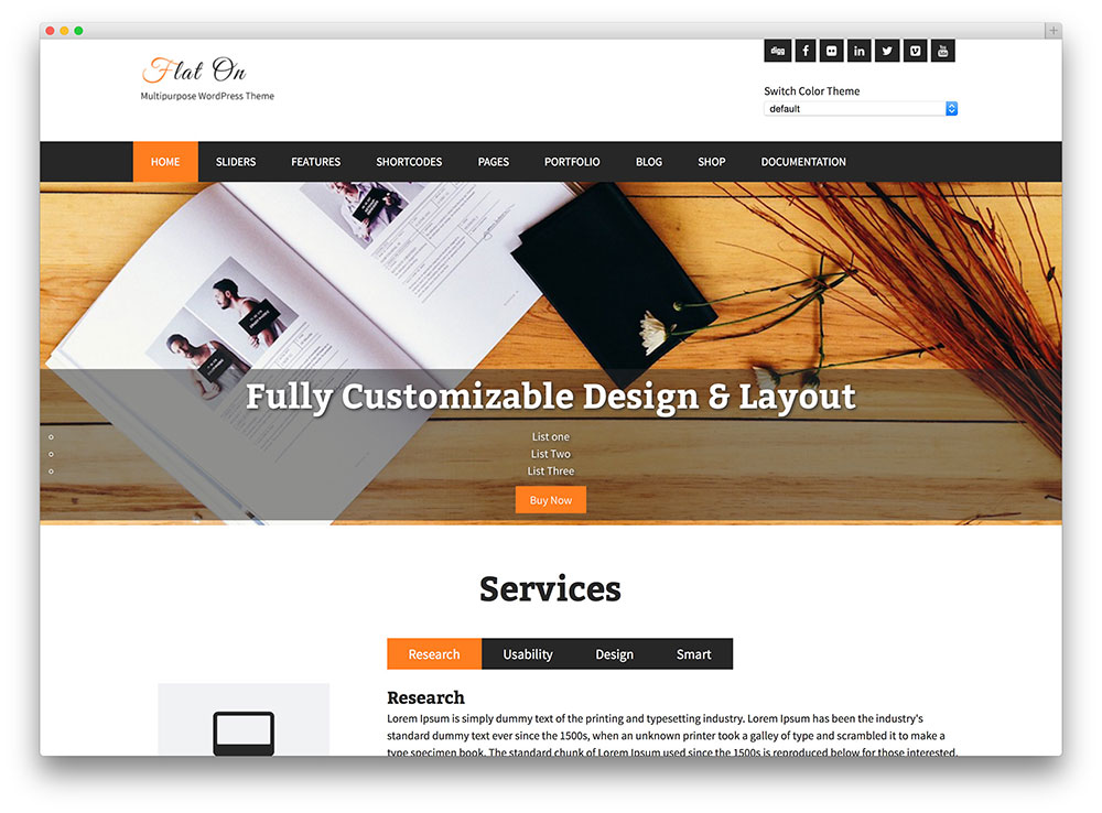 flaton - creative business theme
