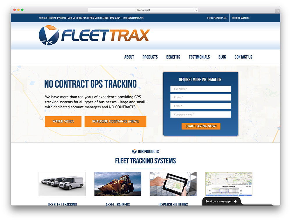 fleettrax-avada-based-transportation-website