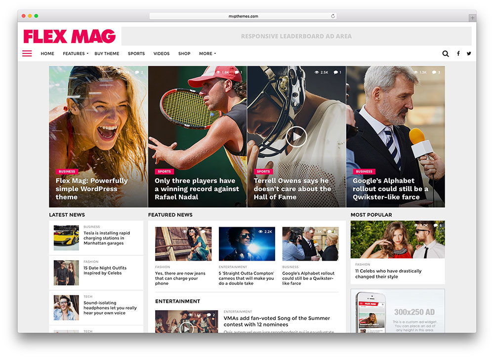Image result for 78 of the Best WordPress Magazine Themes