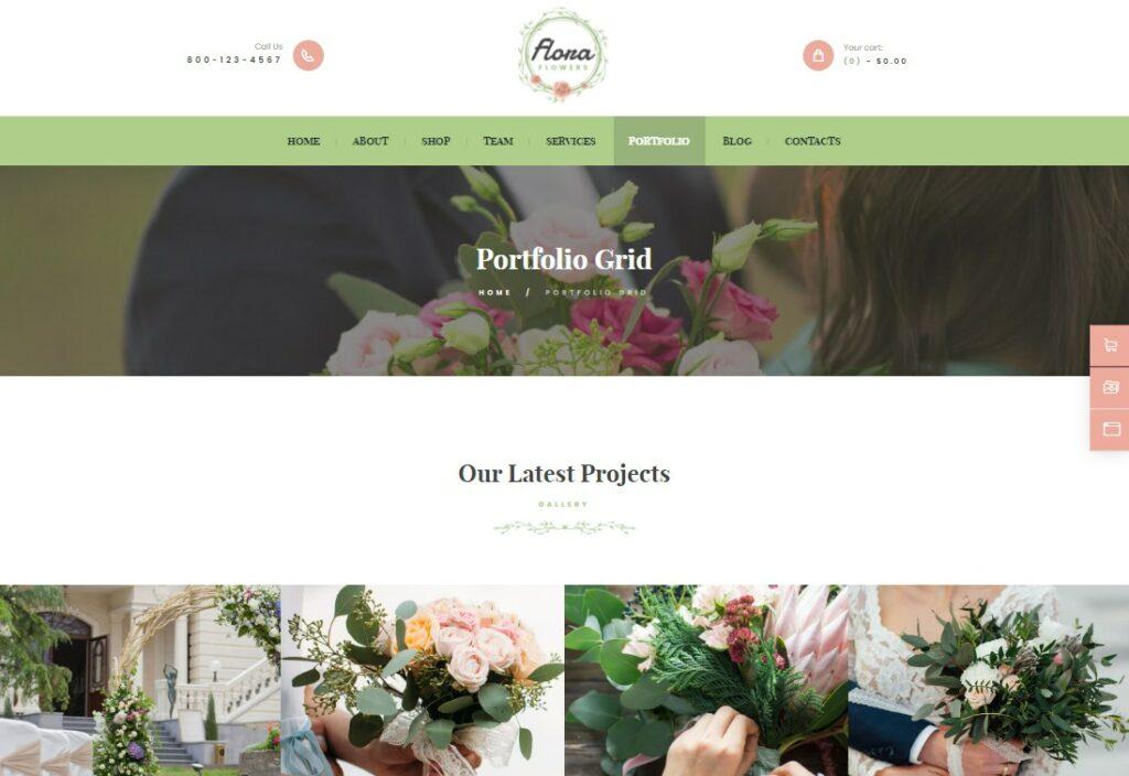 Flowers Boutique | Flowers Boutique and Florist WordPress Theme