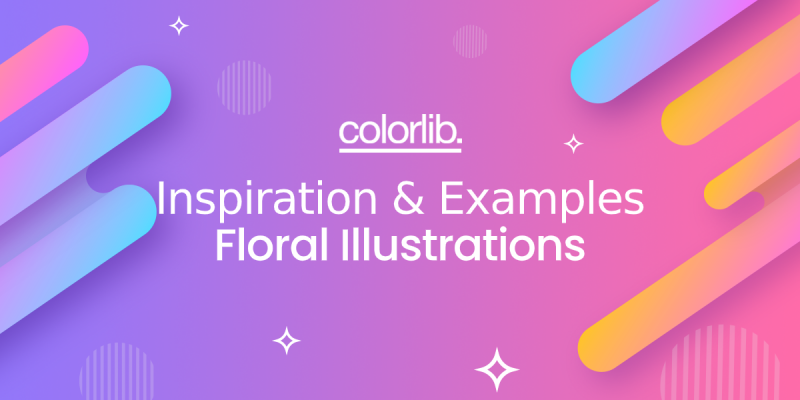 Where To Use Floral Illustrations? Inspirational Ideas And Examples To Download