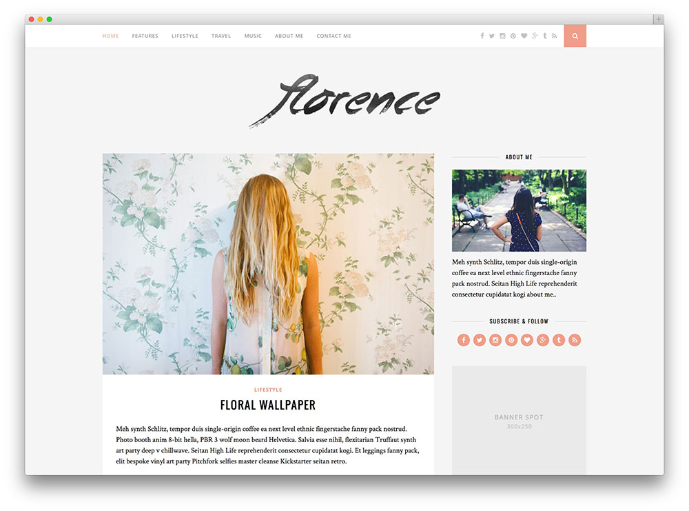 14 Best Tumblr-Style WordPress Blog Themes 2019 - Colorlib