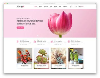Florist Colorlib Template