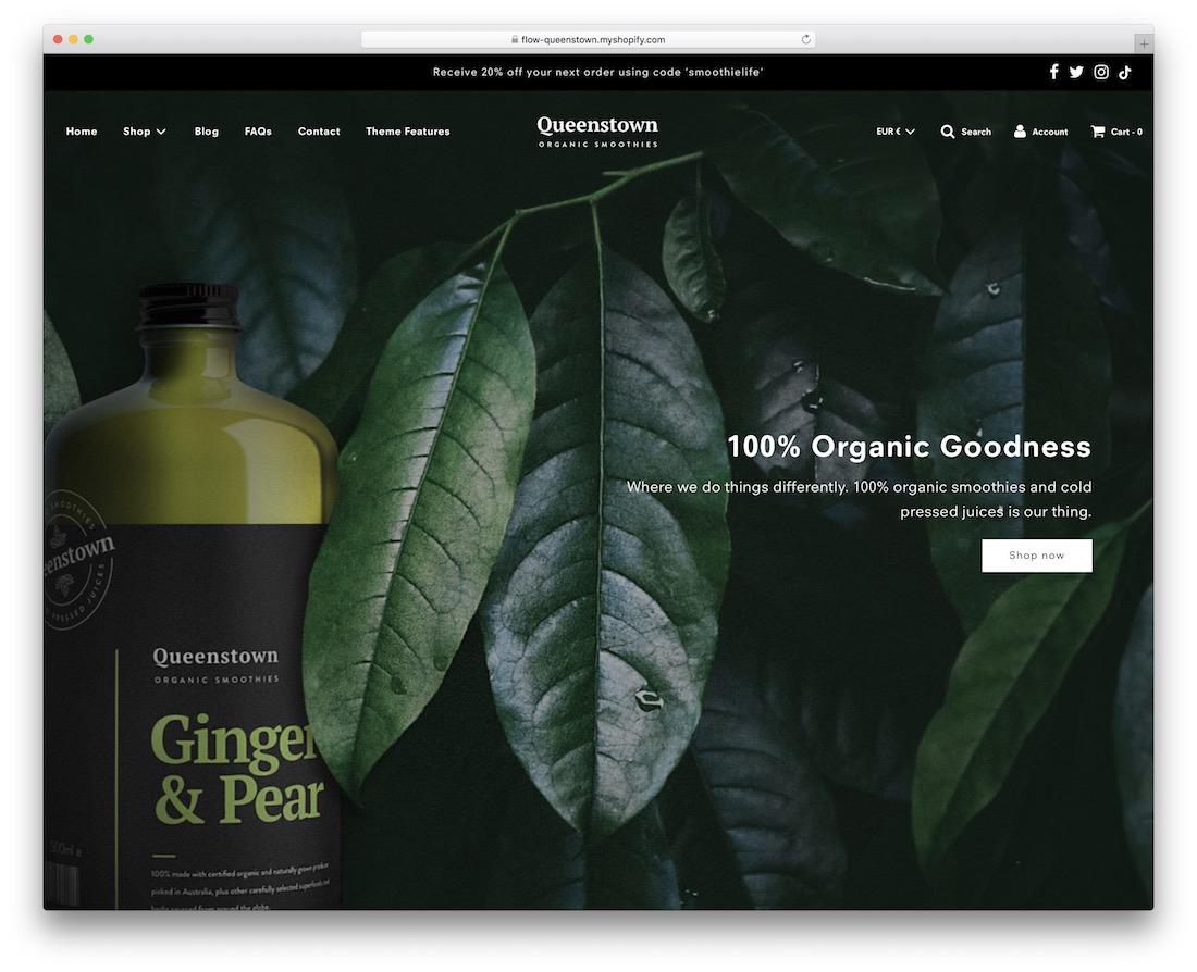flow shopify subscription theme