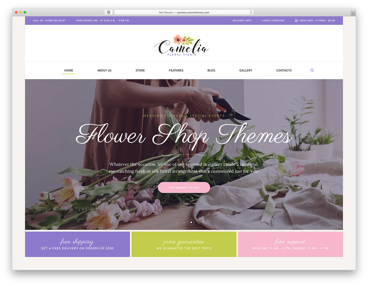 Top 10 Flower Shop WordPress Themes To Build A Competitive Website