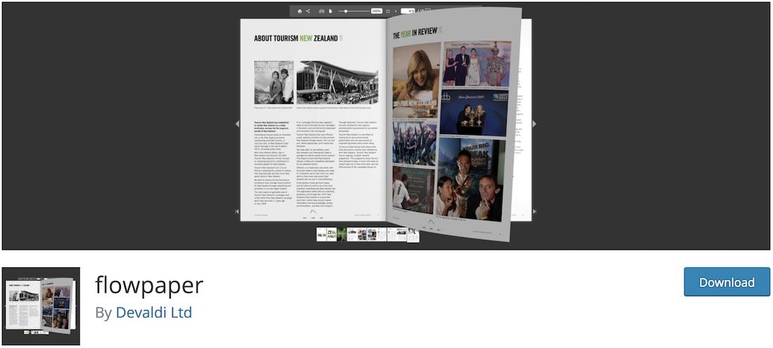 flowpaper lite pdf flipbook