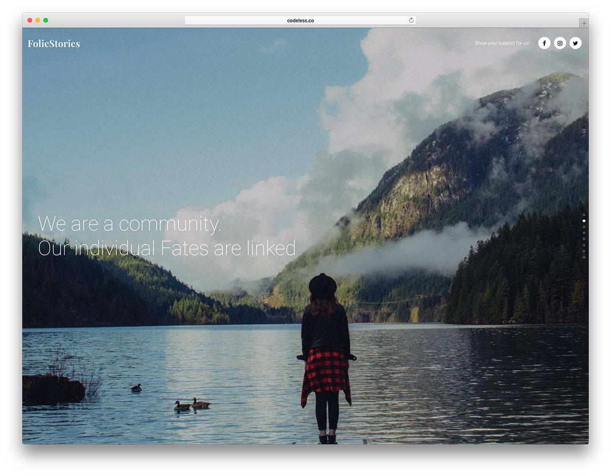 40+ Best One Page WordPress Themes 2019 - Colorlib