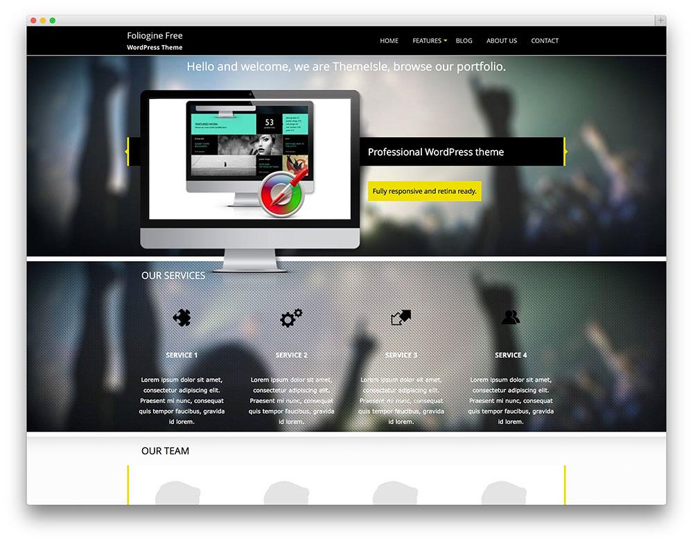 Portfolio Themes Wordpress 2015 Wordpress Portfolio Theme