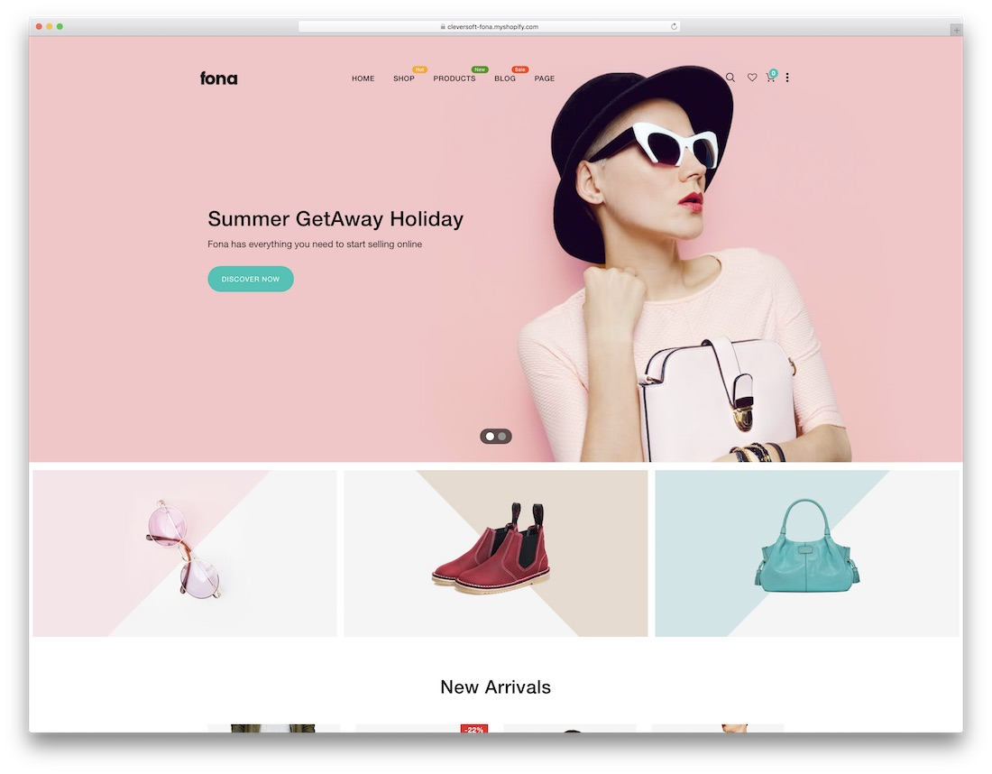 fona fashion shopify theme