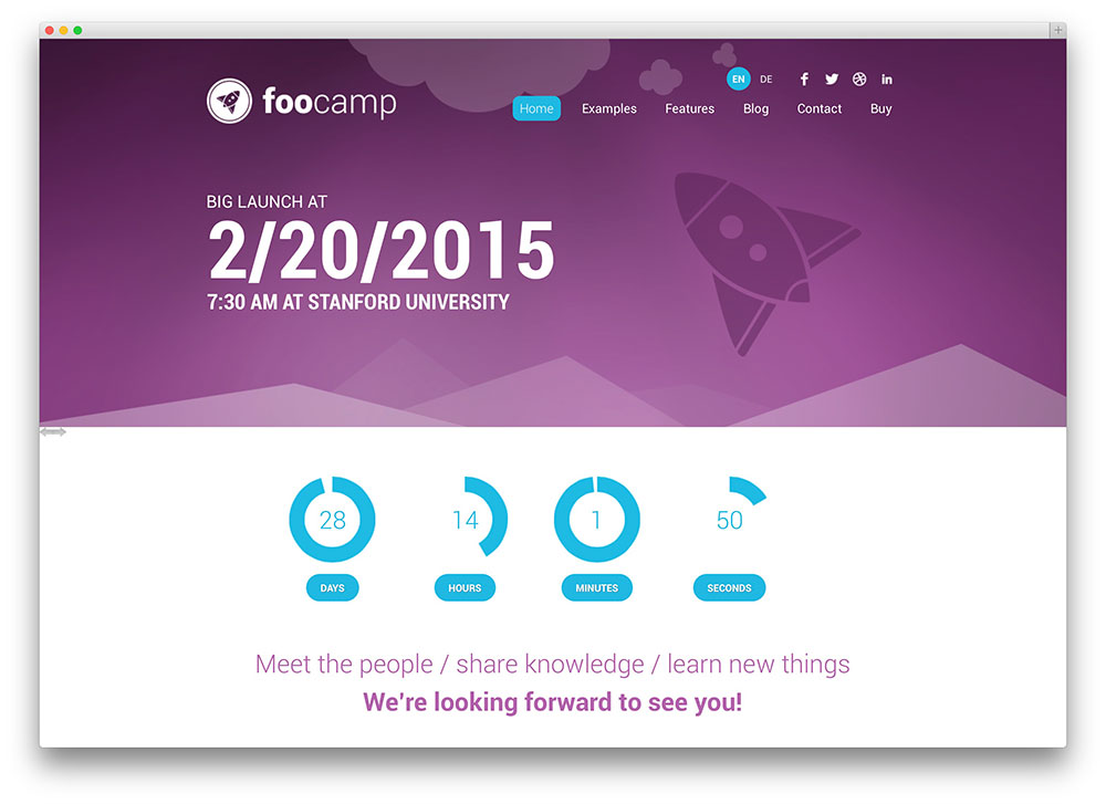 foocamp - theme for conferences