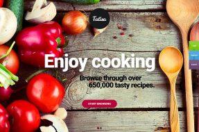 Food-recipe-sharing-themes