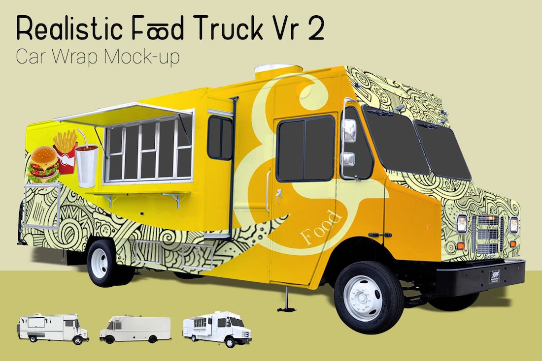 food truck mock-up vr2