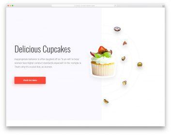 Foodbar Free Template