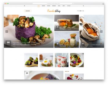 FoodeiBlog Free Template