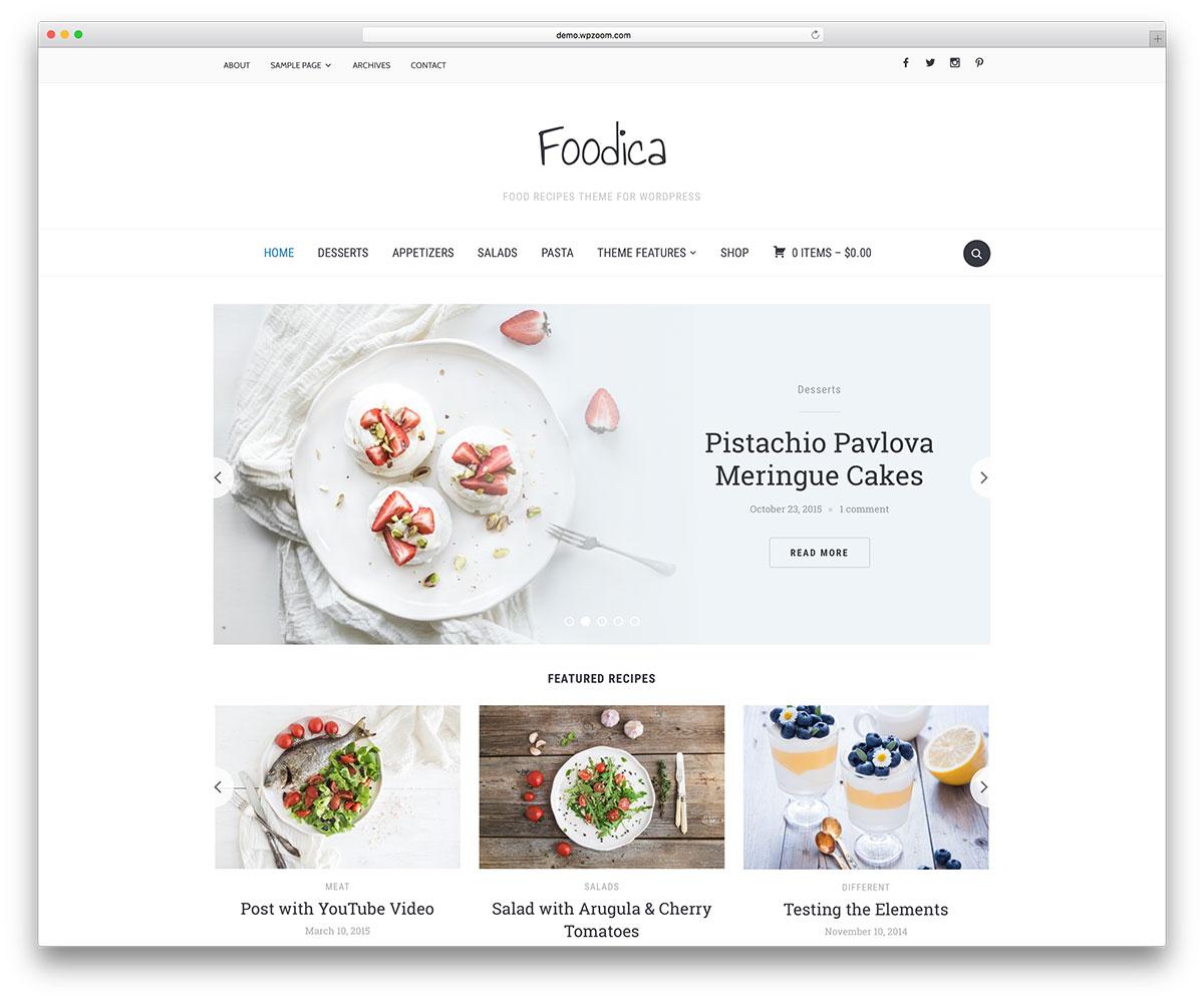foodica-creative-blog-wordpress-website-template