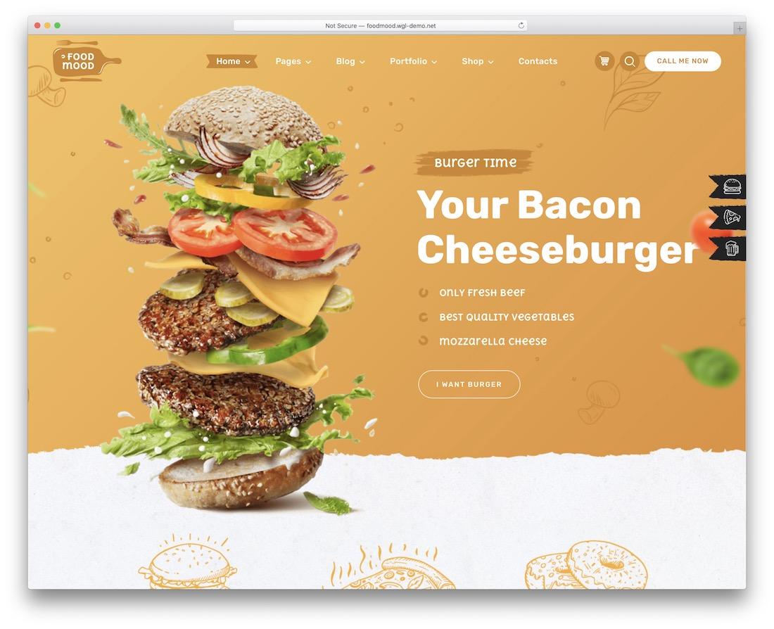 foodmood food truck wordpress theme