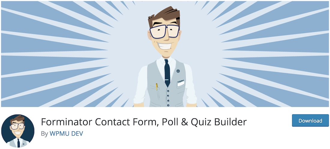 forminator free contact form wordpress plugin