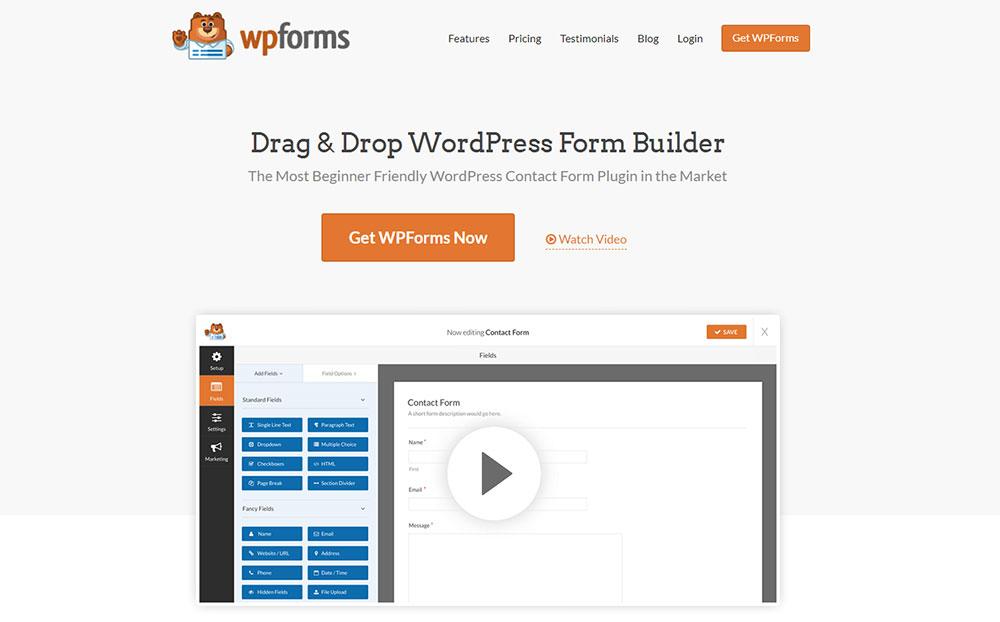 WP Forms - Drag & Drop WordPress Form Builder