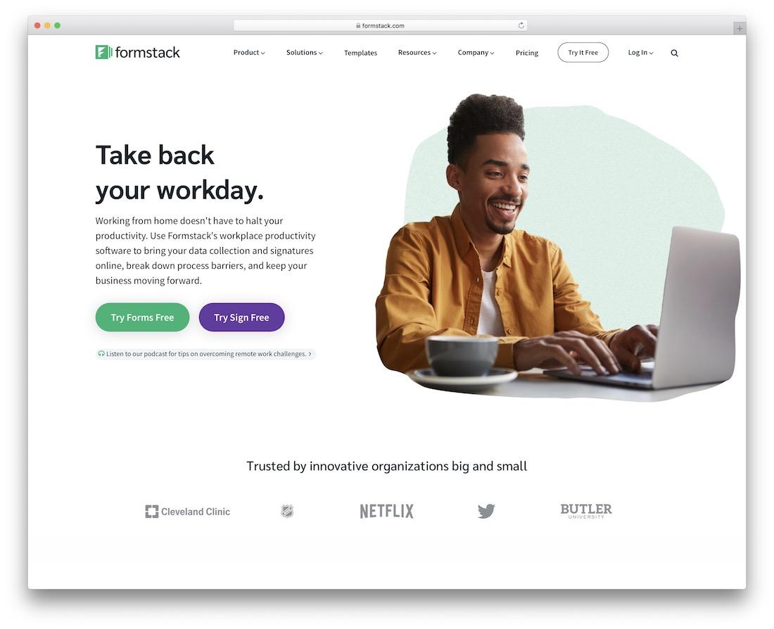 formstack online form maker