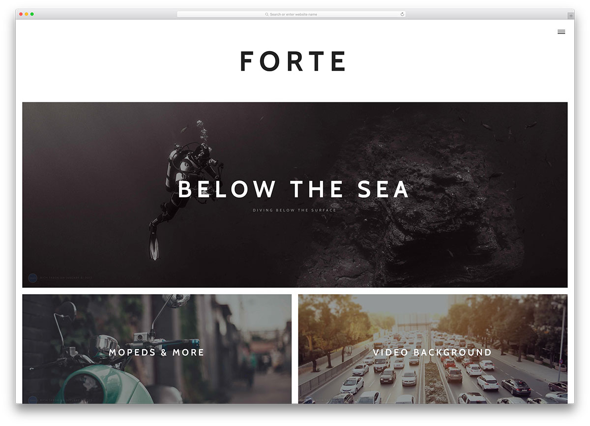 forte-simple-wordpress-blog-theme