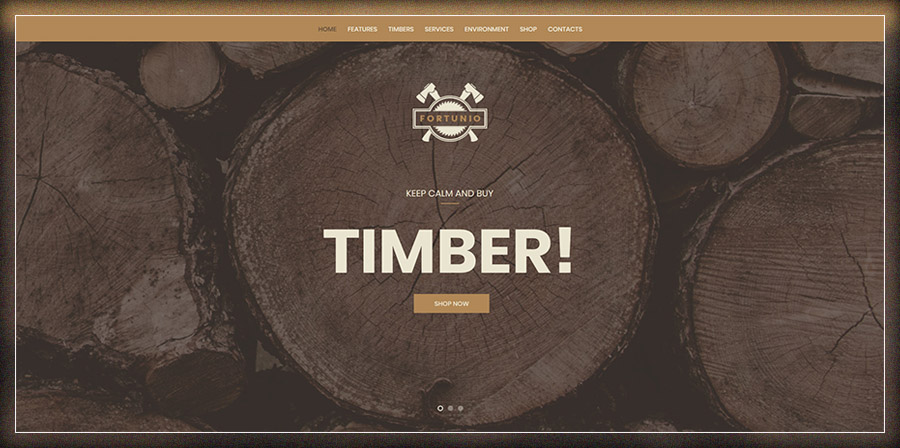 Fortunio - Timber / Forestry / Wood Manufacture Theme