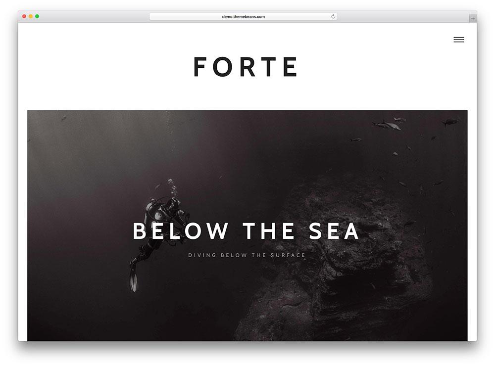 fote - creative blog as membership website
