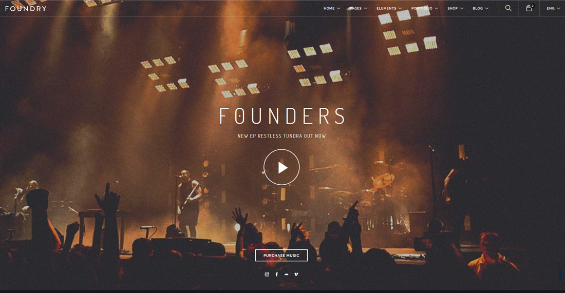 foundry-bootstrap-music-templates