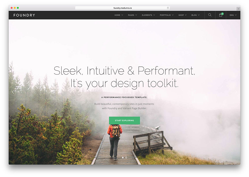 foundry html5 css3 fullscreen business template