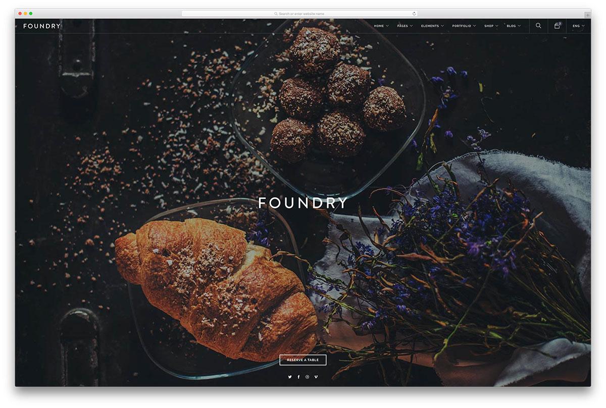 foundry-multipurpose-restaurant-website-template
