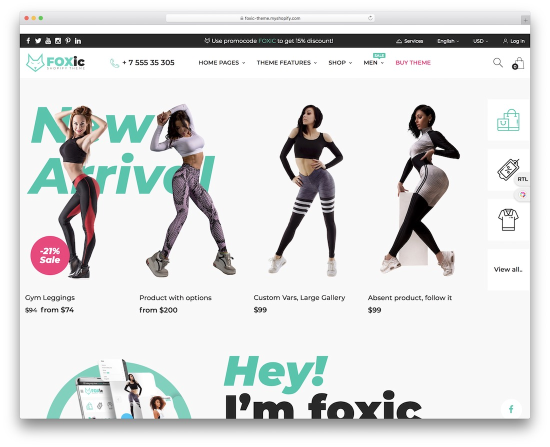 foxic shopify subscription theme