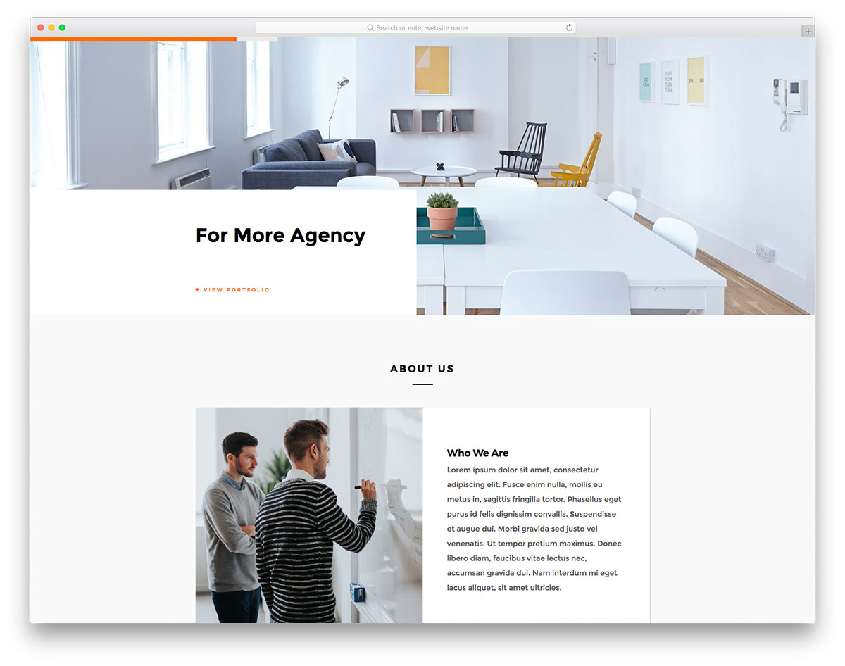 20 best mobile ready free architect website templates 2019 colorlib - Interior design websites free ...