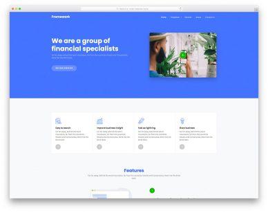 Framework Free Template