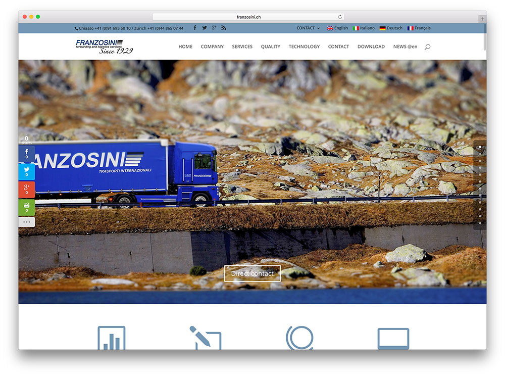 franzosini-logistics-company-website-example