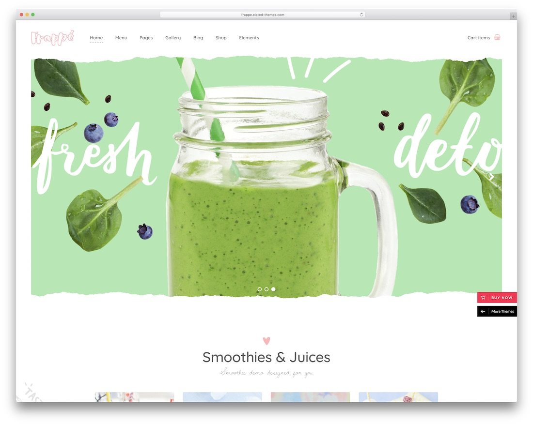 frappe wordpress theme for bars pubs
