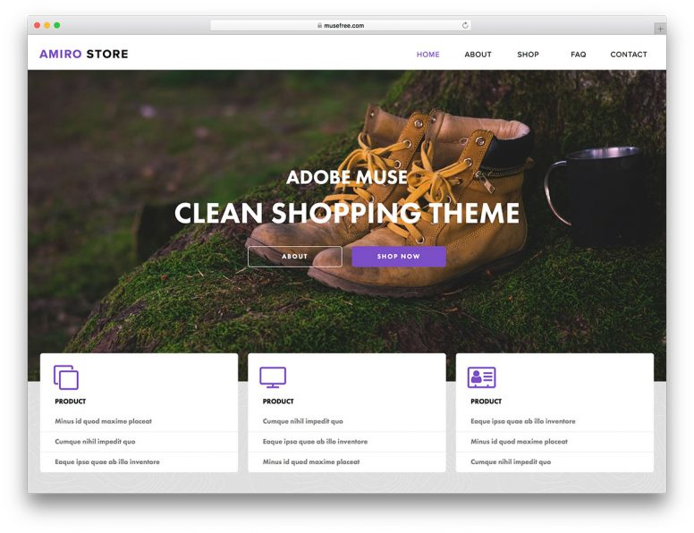 16+ Free Adobe Muse Templates & Themes 2018