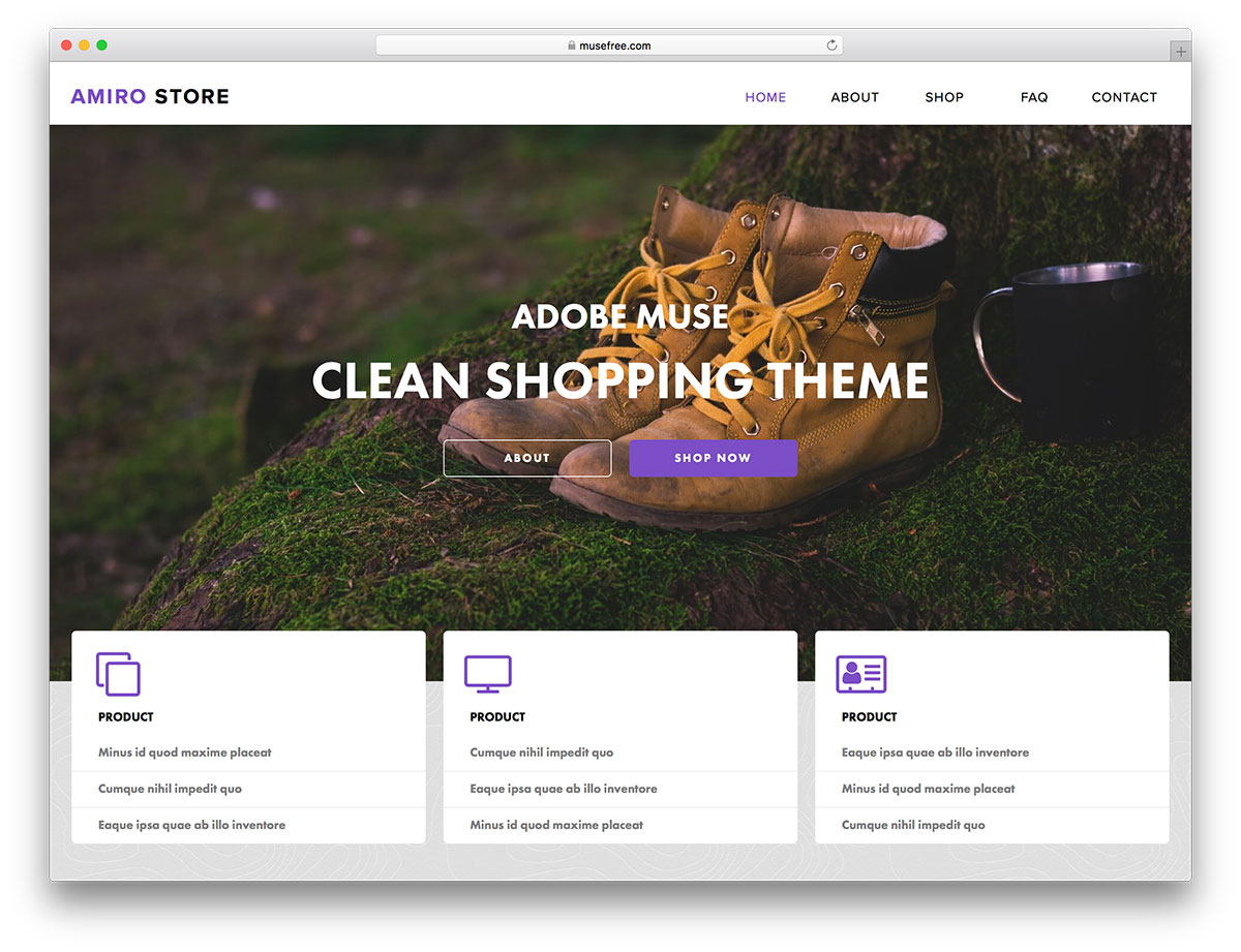 16+ Free Adobe Muse Templates & Themes 2020