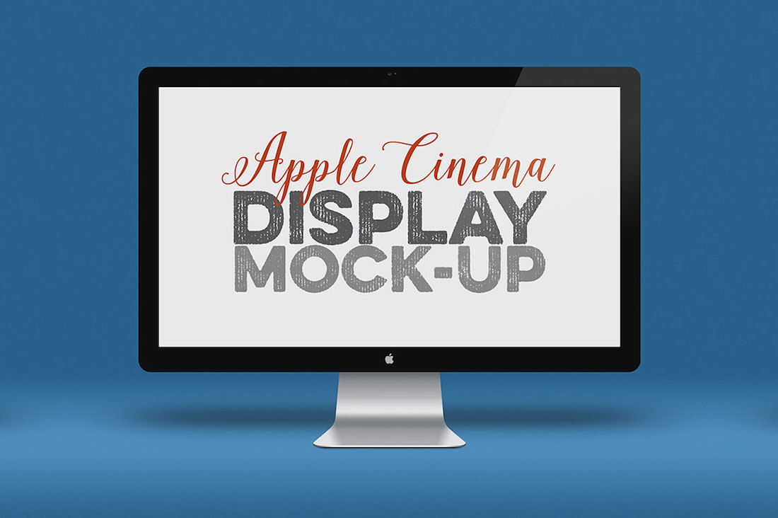 free apple screen mockup
